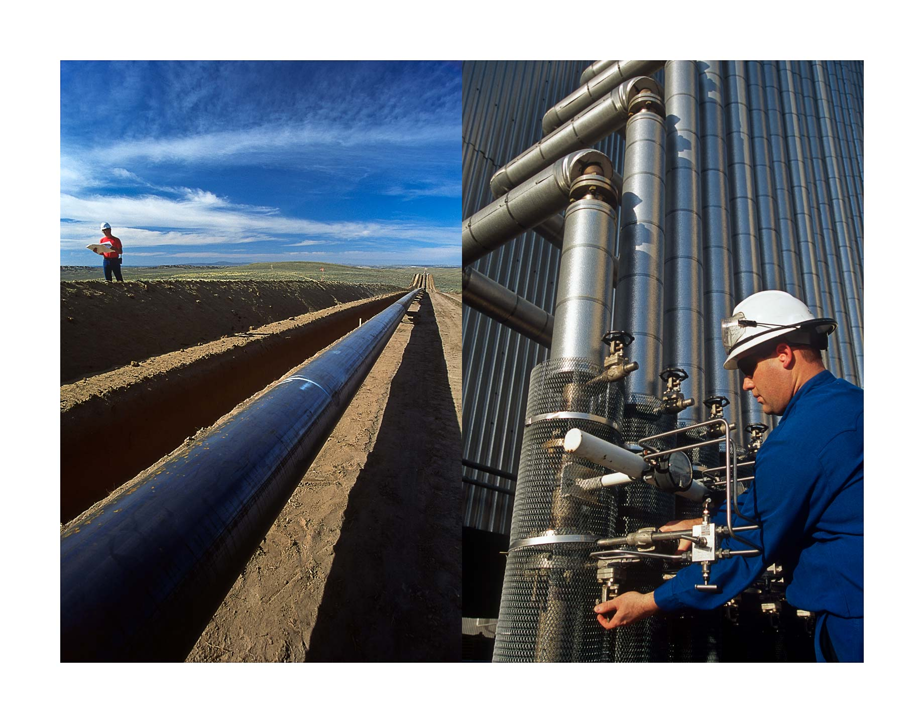 PIPELINE CONSTRUCTION & REFINERY OPERATOR