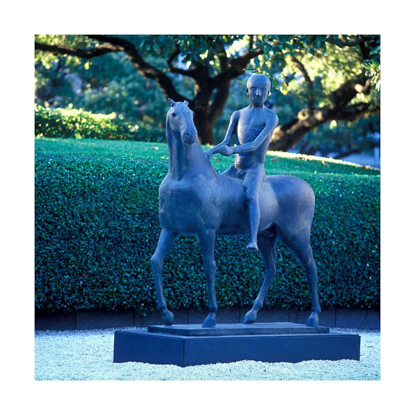 MARINI SCULPTURE IN MFAH GARDEN