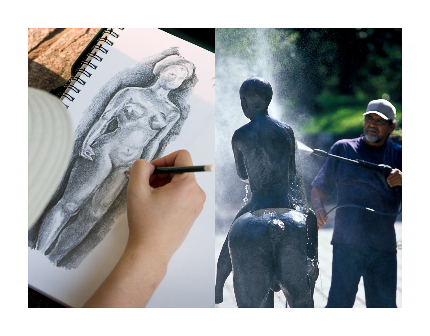 SKETCHPAD & ART CONSERVATION ON SCULPTURE