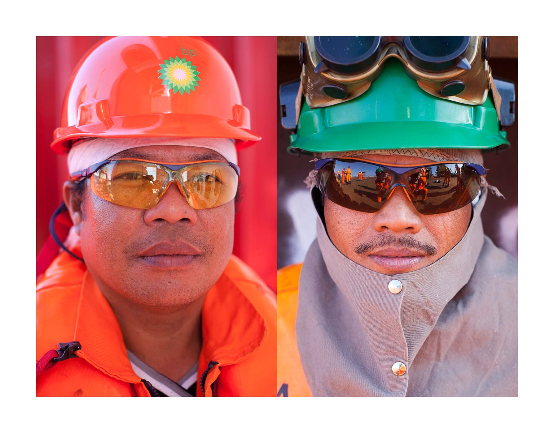 WORKERS DEEPWATER VESSEL ASIAN PPE